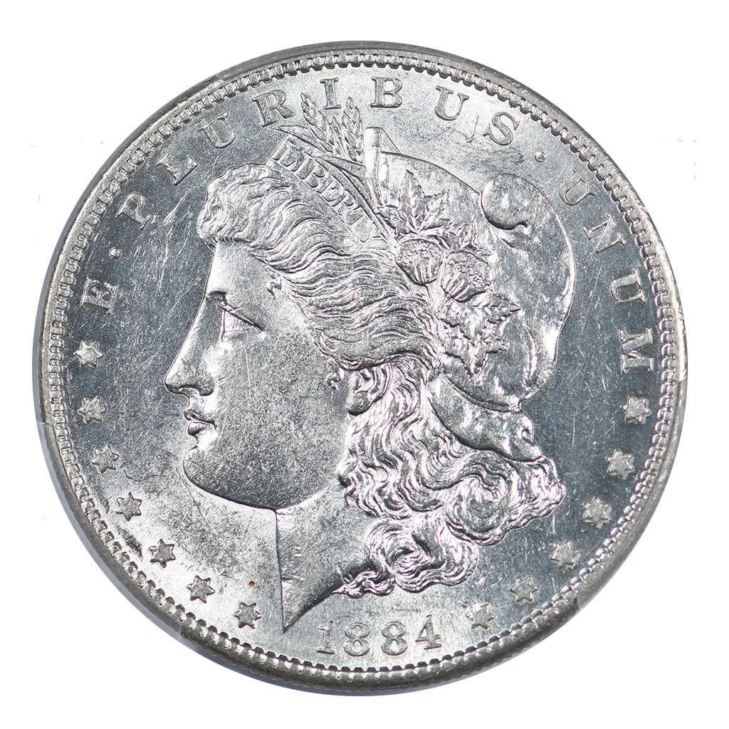 1884-S Morgan Dollar PCGS AU58