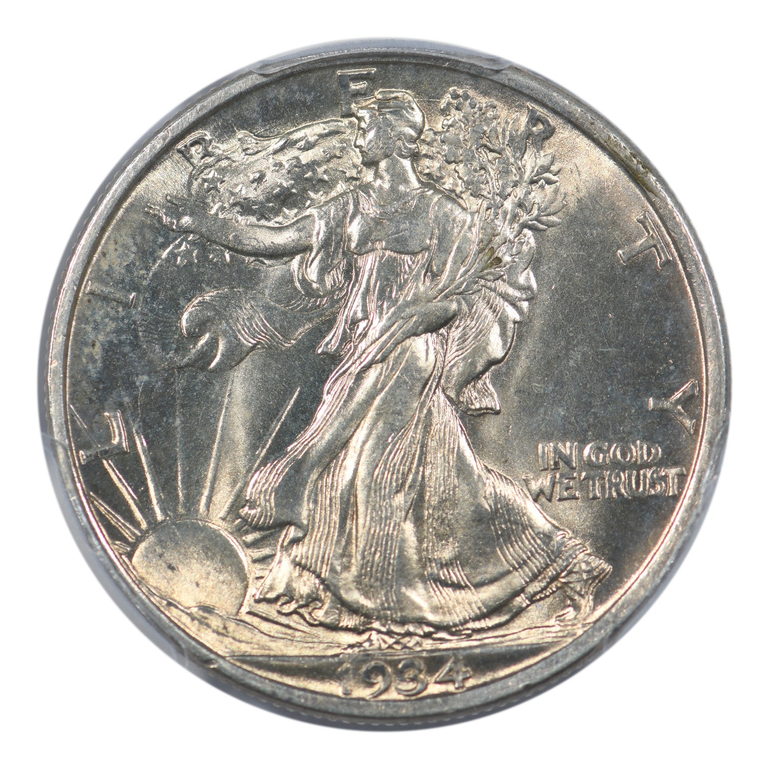 1934-D Walking Liberty Half Dollar PCGS MS65
