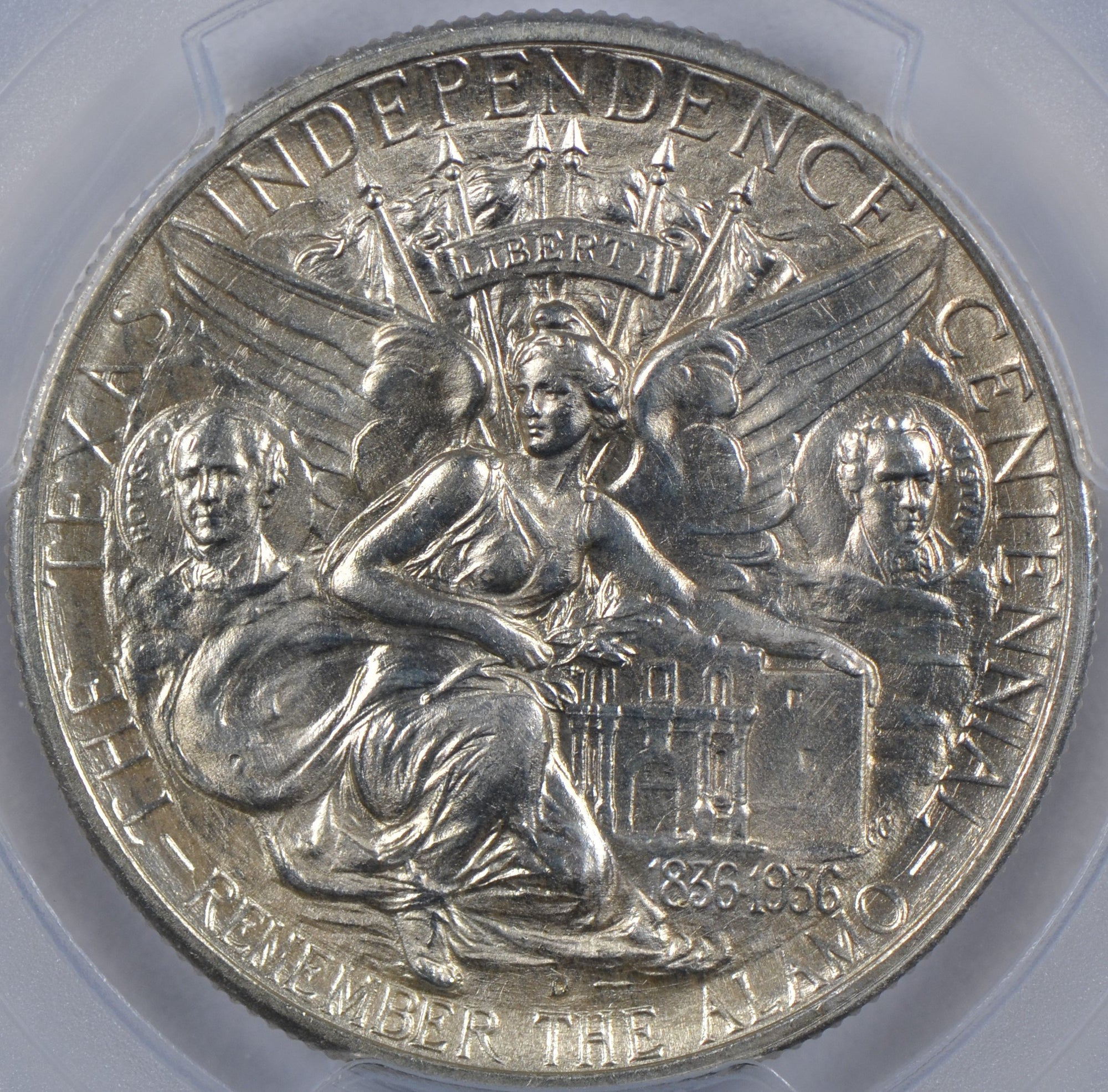 1935-D Texas Silver Commemorative Half Dollar PCGS MS66