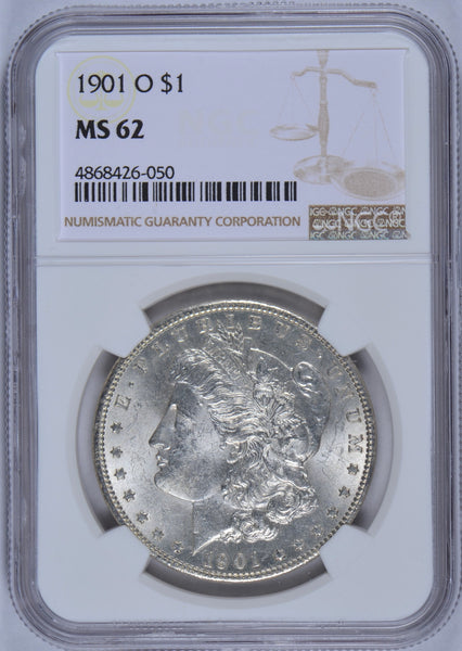 1901-O Morgan Dollar NGC MS-62