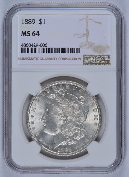 1889 Morgan Dollar NGC MS64