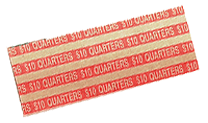 Flat Quarter Coin Wrappers