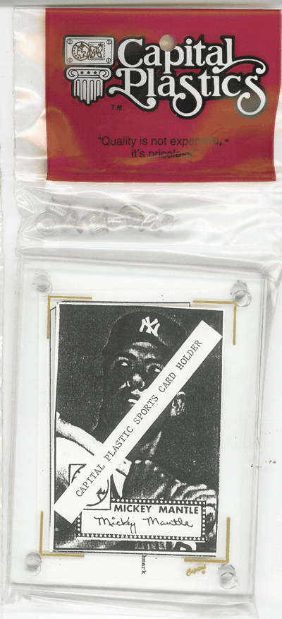 Fractional Currency or Baseball Card Holder