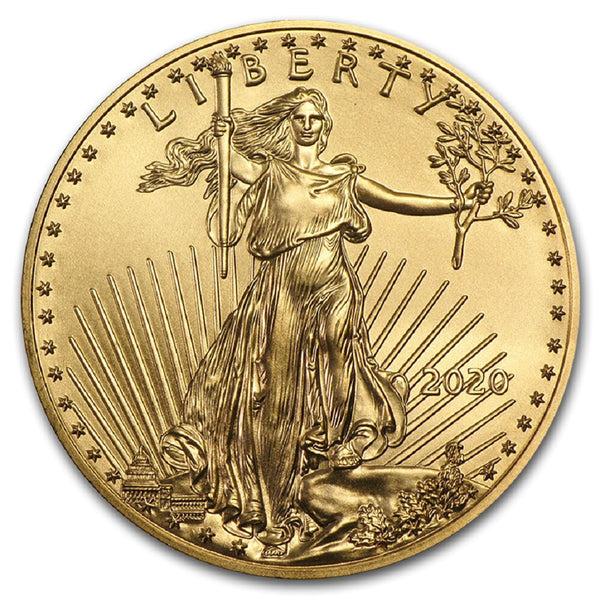 2020 1/2 oz American Gold Eagle Mint State
