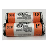 2007 Washington Statehood Quarters P & D BU Mint Rolls