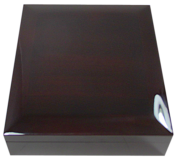 Large NGC Slab Box with Dome Lid and Piano Finish