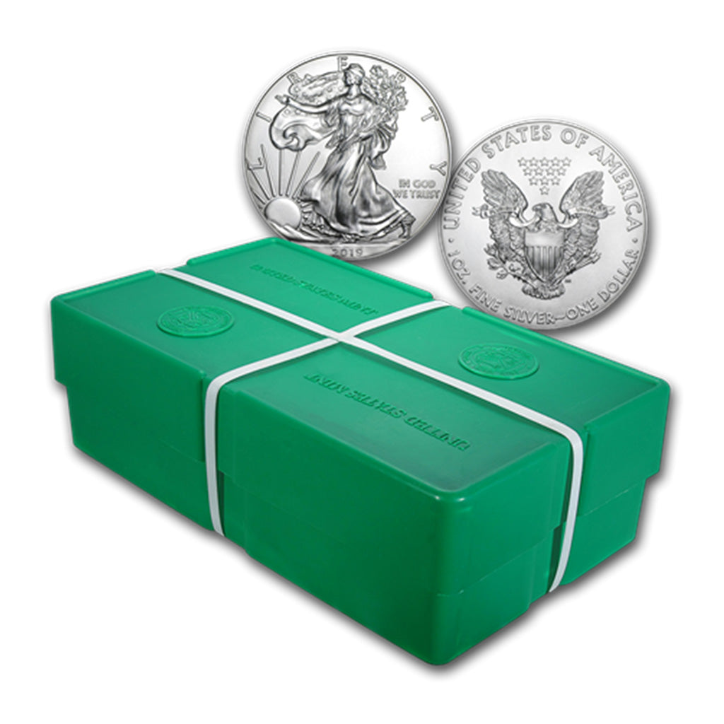 2019 American Silver Eagle Mint State Sealed Box  *Box of 500*