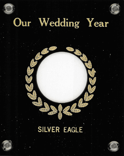 Our Wedding Year (Silver Eagle $)