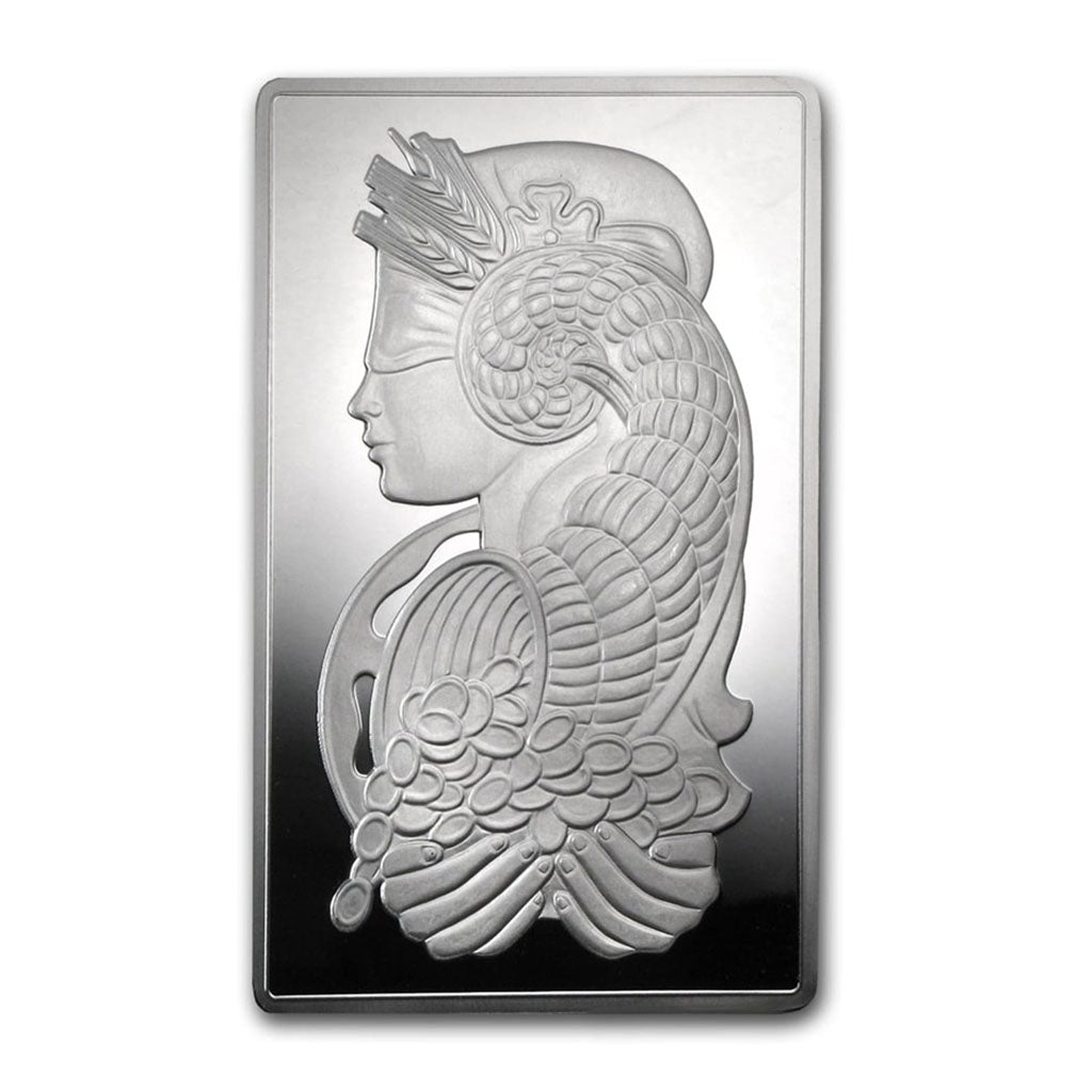 10 oz PAMP Suisse Silver Bar