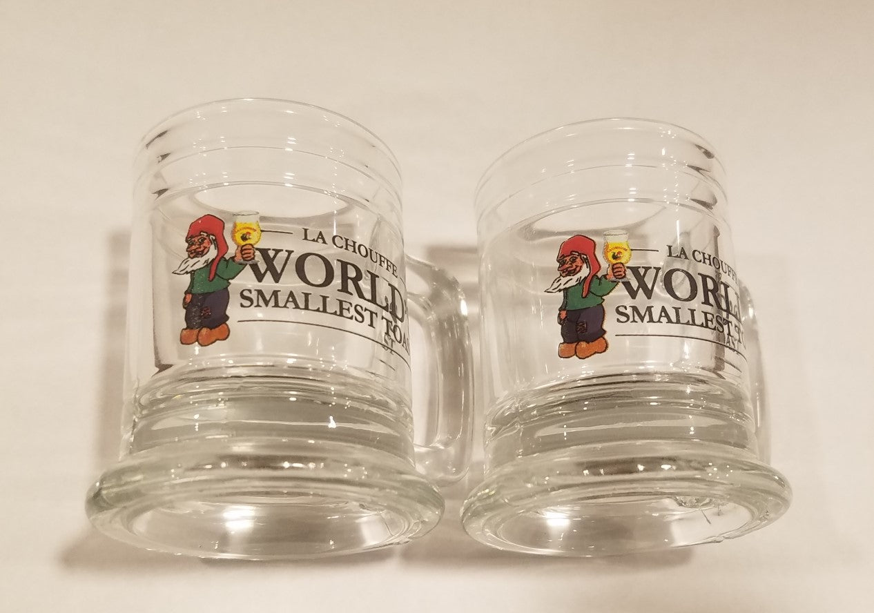 La Chouffe World's Smallest Toast Shot Glass Set of 8