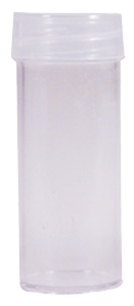 Round Coin Tube-Quarter, 100/bx