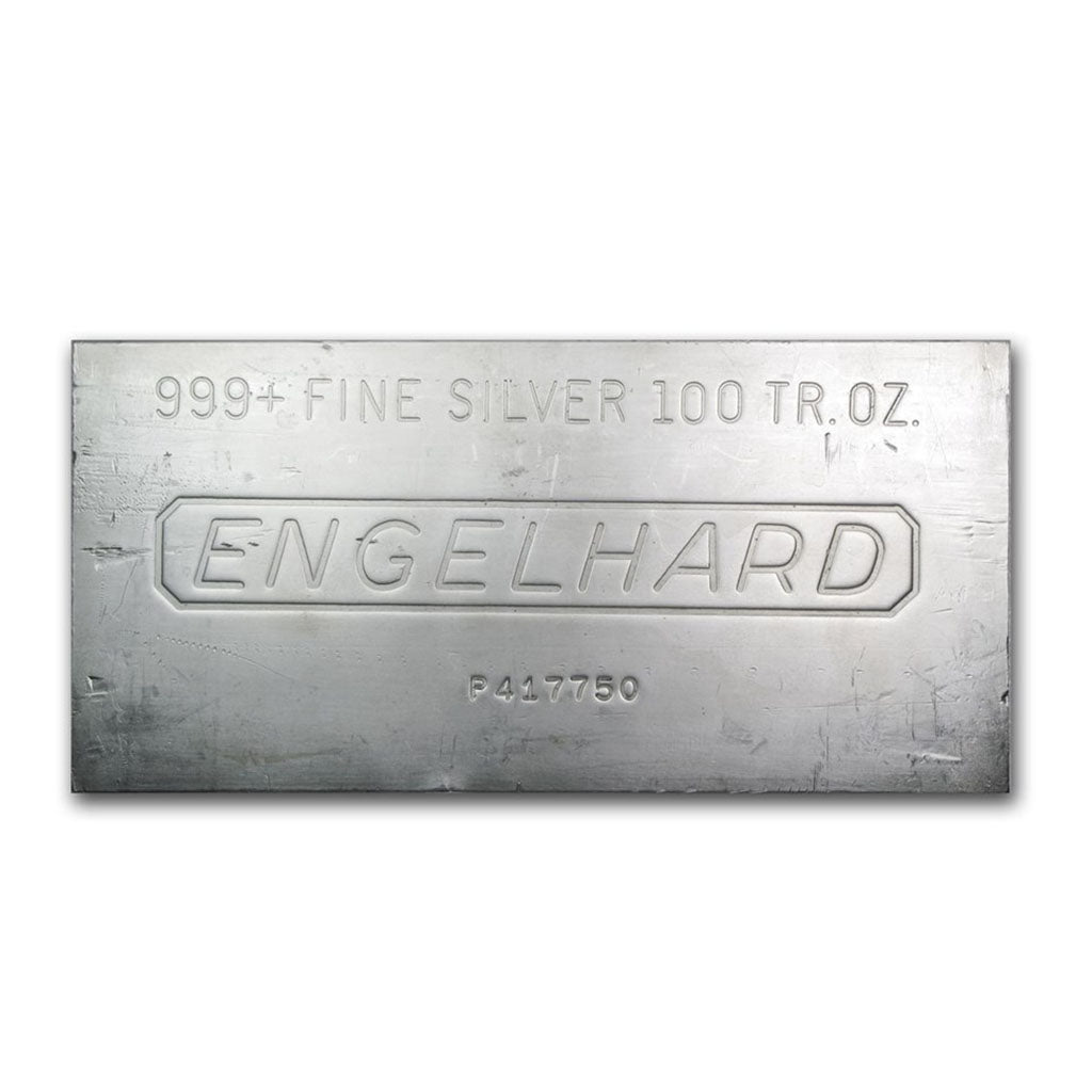 100 oz Englehard Silver Bar