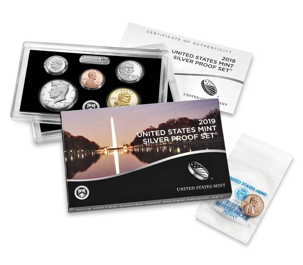 2019 U.S. Silver Proof Set