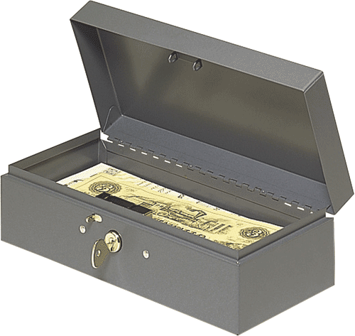 Steel Paper Money Box