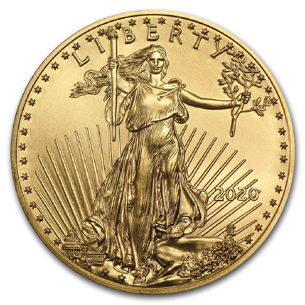 2020 1/10 oz American Gold Eagle Mint State