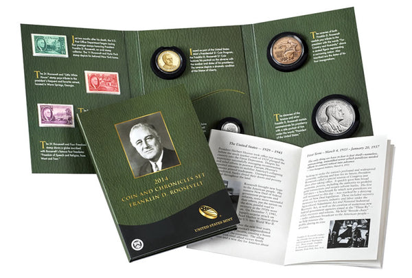 2014 Coin and Chronicle Set Franklin D Roosevelt