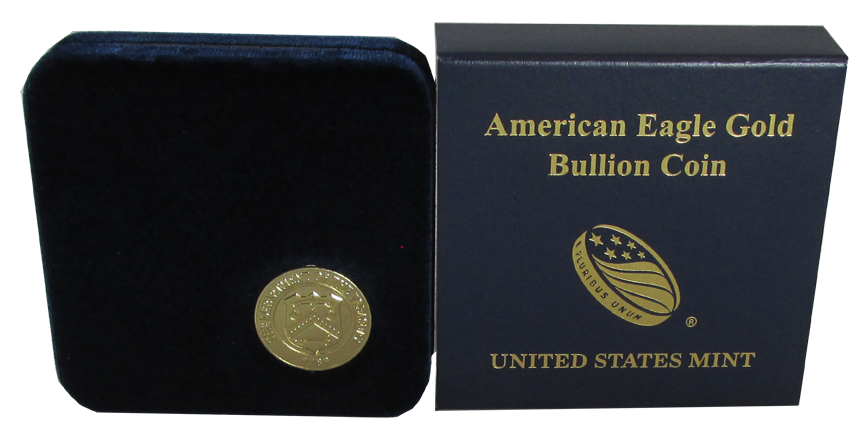 US Mint Gold Eagle 1/10 oz Presentation Box