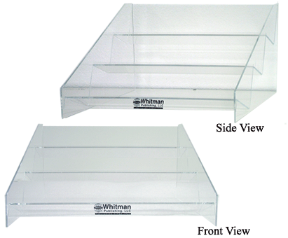 Whitman Acrylic 3 Tier Display. Only Display