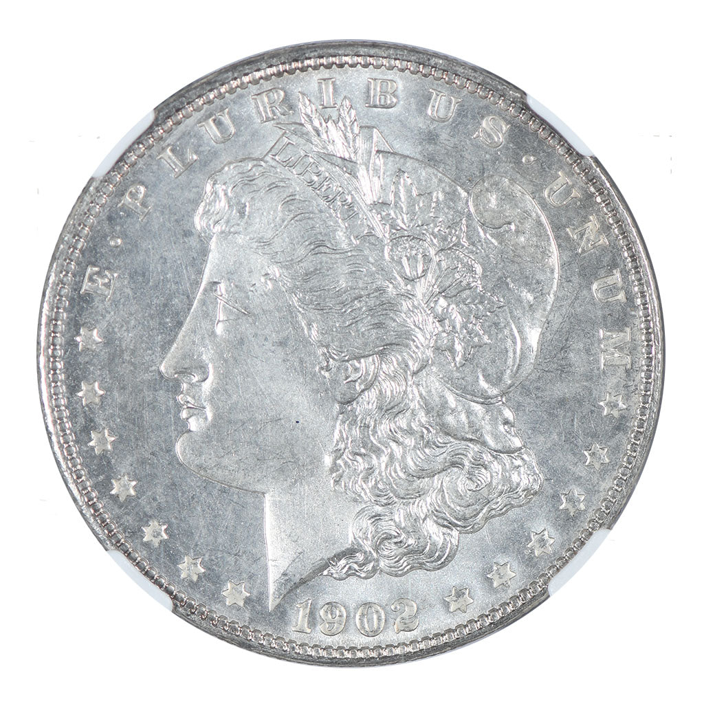 1902 Morgan Dollar NGC MS65 CAC