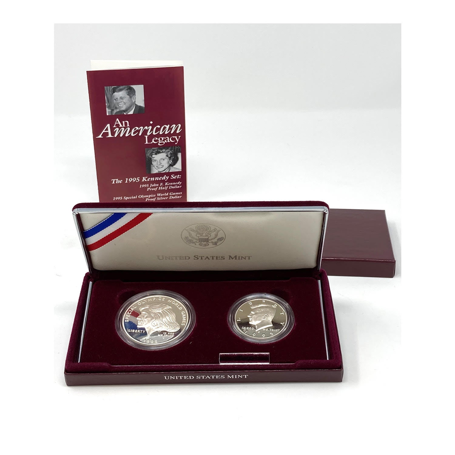 1995 Kennedy Special Olympics 2-Coin Proof Set