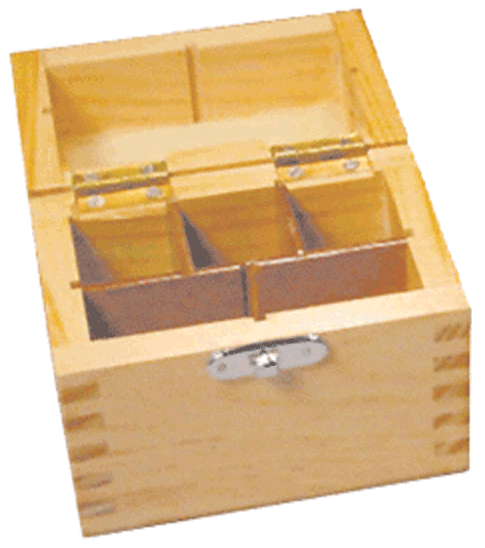 Gold Test Acid Box - Capacity for 3 bottles, stones and picks