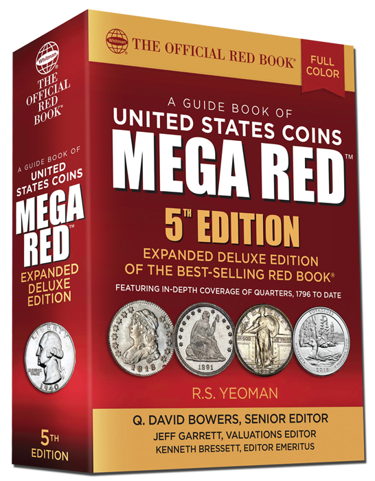 2020 Red Book MEGA, A Guide Book of United States Coins Deluxe 5th Edition