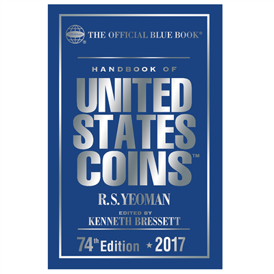2017 Blue Book, Handbook of US Coins