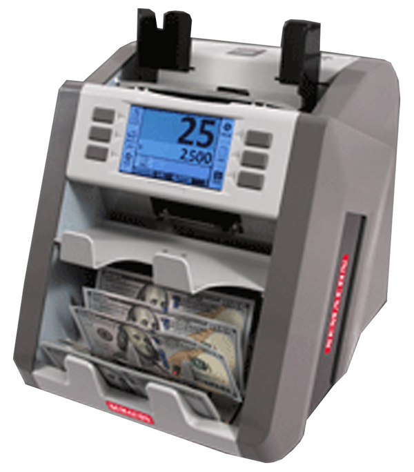 Semacon Bank Grade Two Pocket Currency Discriminator S-2500