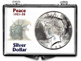 Peace Dollar, Snap Lock