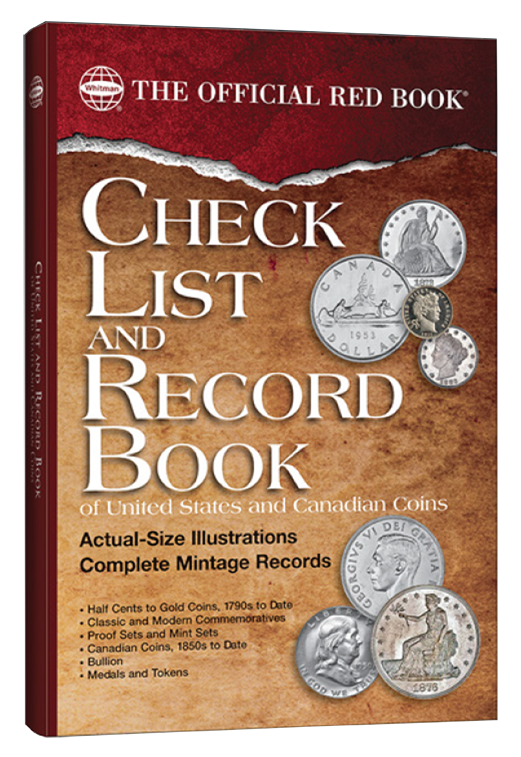 Checklist And Record Book of United States And Canadian Coins