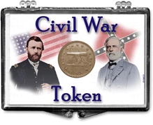 Civil War Token Snap Lock Case