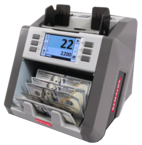 Semacon Bank Grade Single Pocket Currency Discriminator S-2200