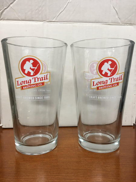 Long Trail Brewing Co. Beer Glass Set of 2 (1 Pint)