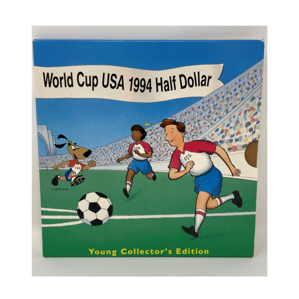 1994 Young Collector's Commemorative Half Dollar USA World Cup Mint State