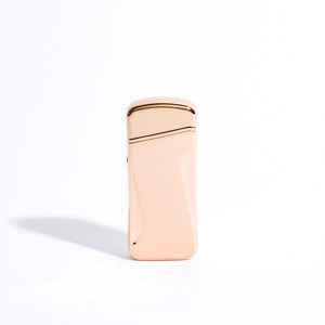 Rose Gold - Wide Double Arc Lighter (Metallic)