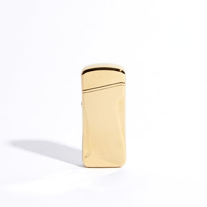 Gold - Wide Double Arc Lighter (Metallic)