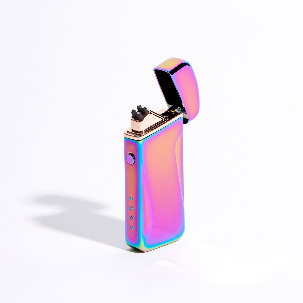 Purple - Wide Double Arc Lighter (Metallic)