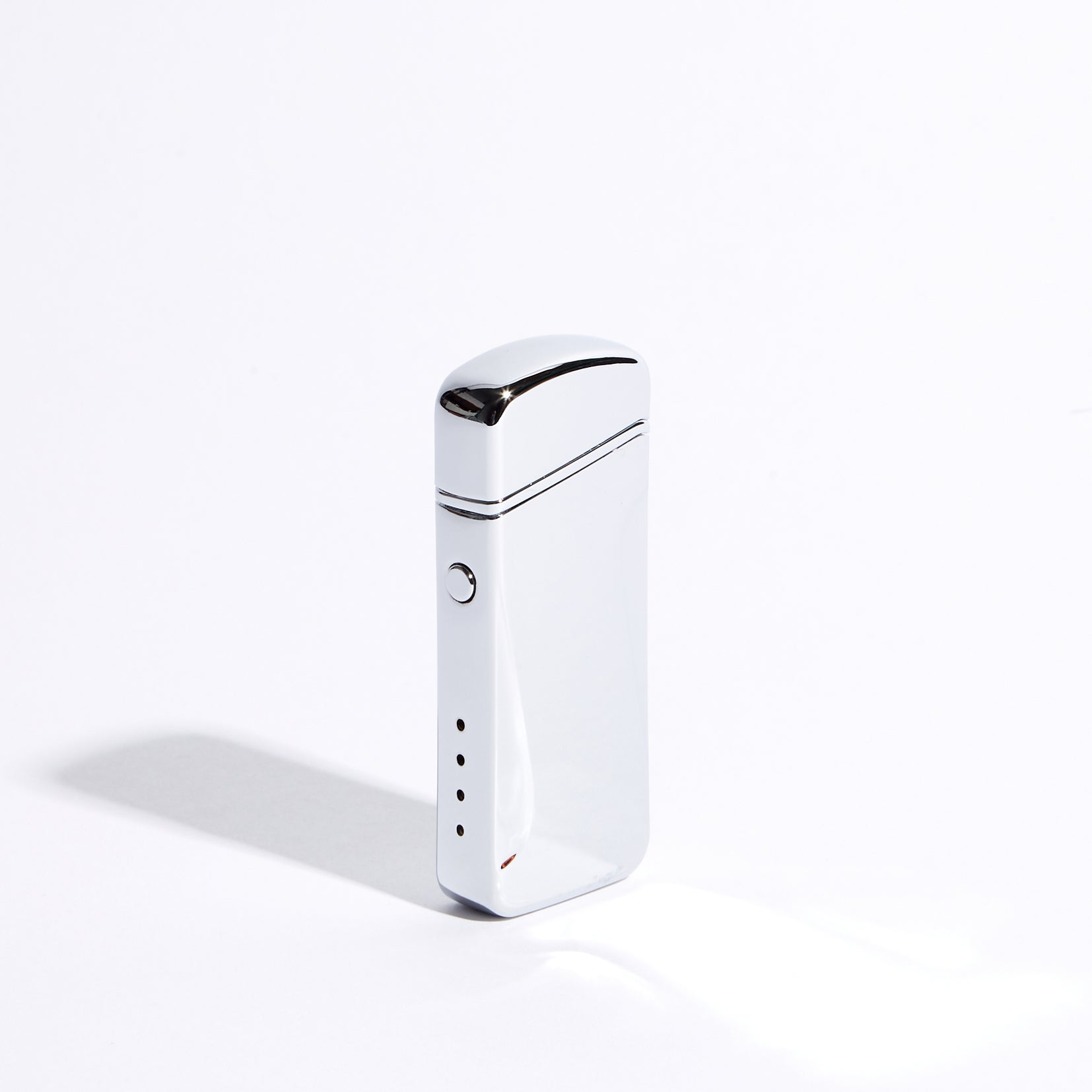 Silver - Wide Double Arc Lighter (Metallic)