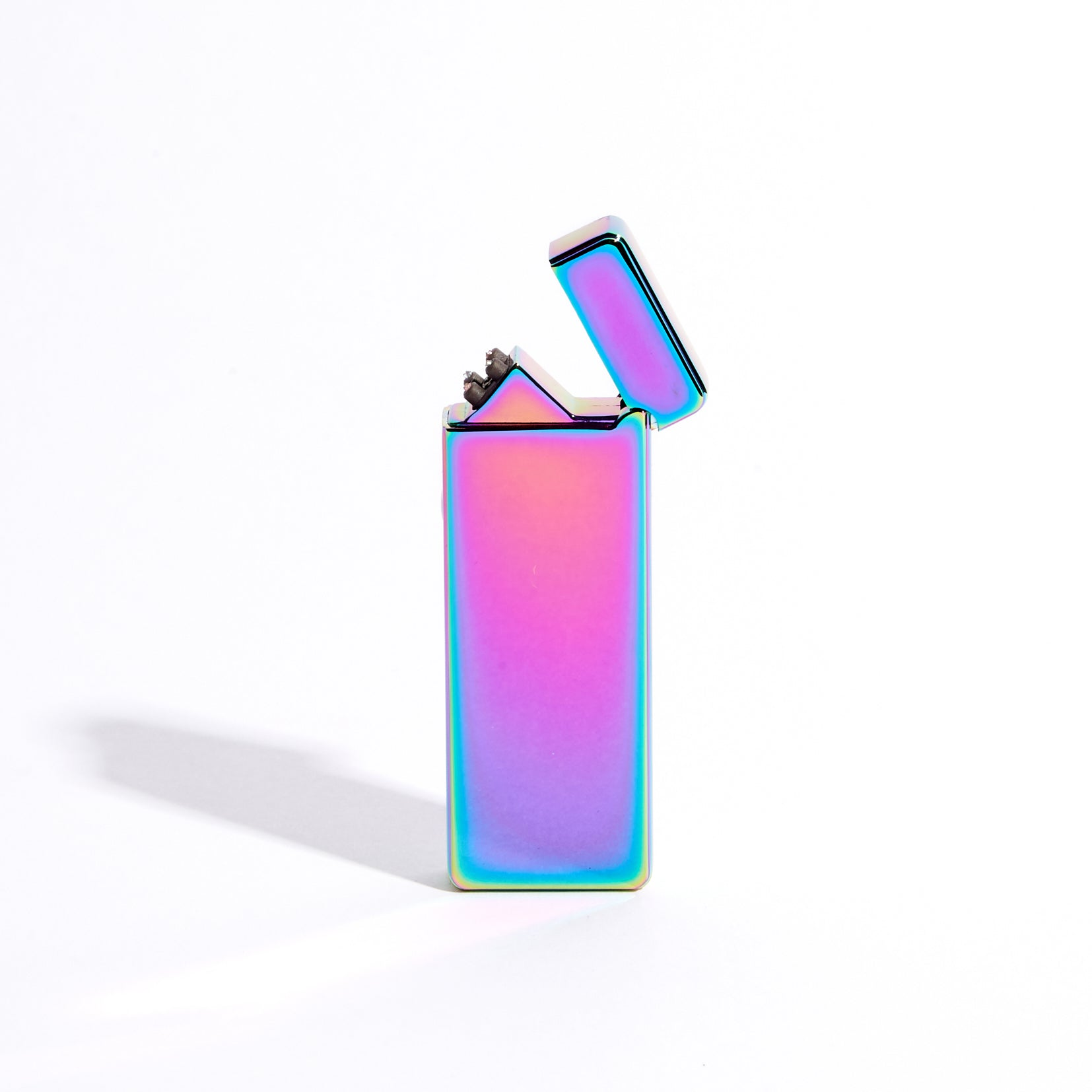 Purple - Slim Double Arc Lighter (Metallic)