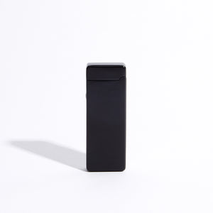 Black - Slim Double Arc Lighter (Matte)