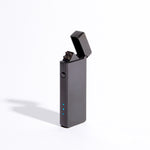 Black - Slim Double Arc Lighter (Metallic)
