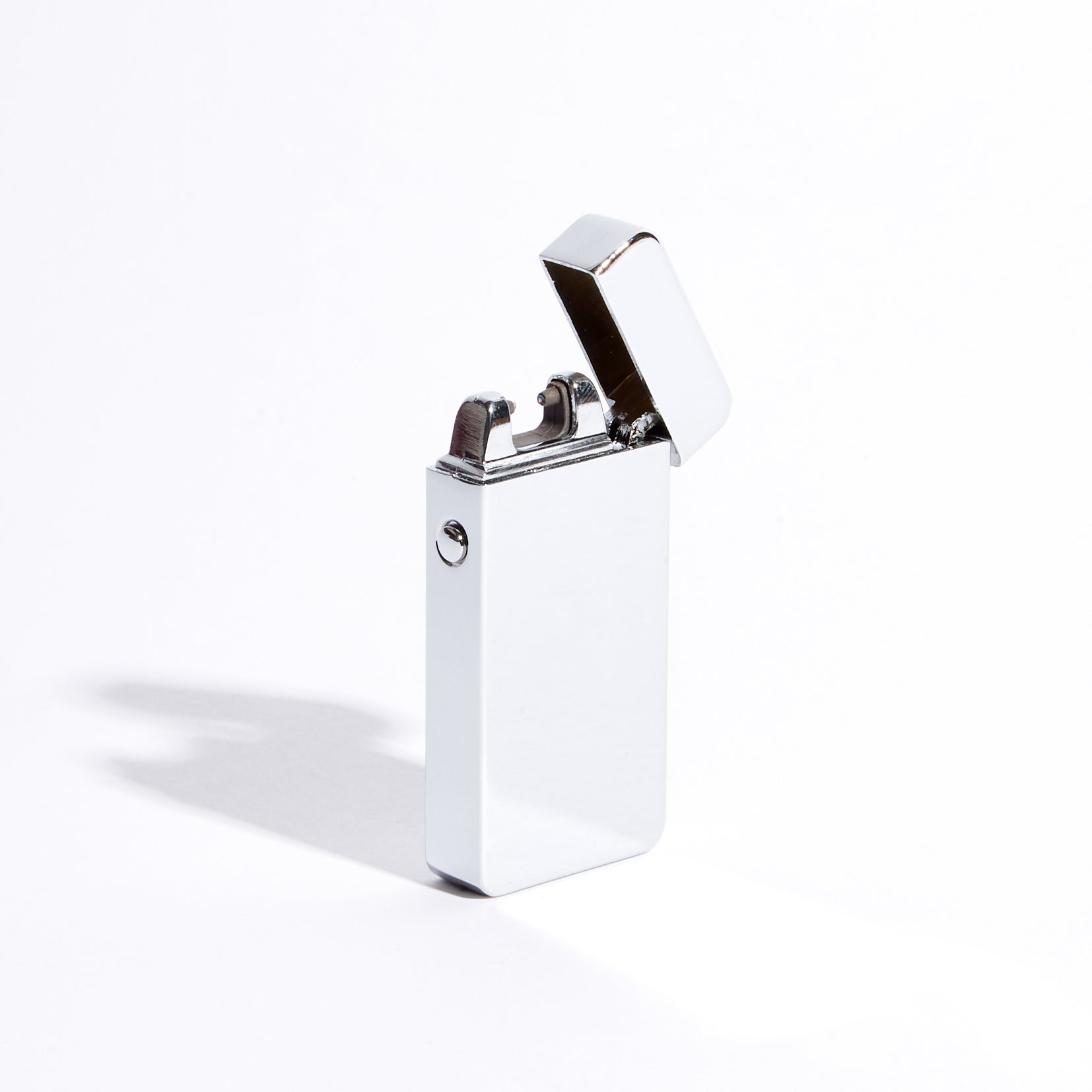 Silver - Single Arc Lighter (Metallic)