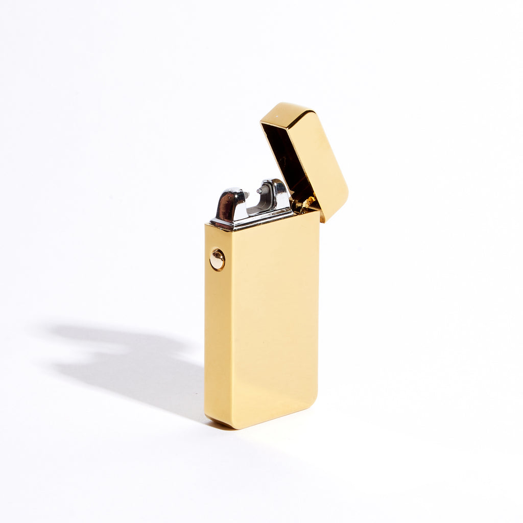 Gold - Single Arc Lighter (Metallic)