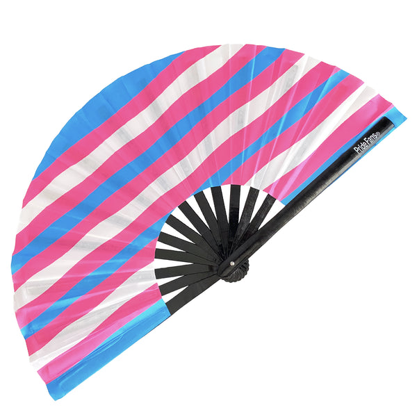 Transgender Pride hand fan Pride Fan for LGBT Gay Pride