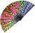 Hand Pride Fan Slay text rainbow colors leopard print