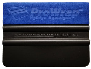 ProWrap™ Ultrasuede® Wet Edge Squeegee - TRUE BLUE