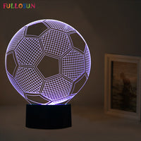 Decor Lamp: Show Your Love for Football, Surprise Your Friends - 7 colors