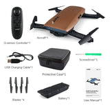 Gadget Drone H47 ELFIE Plus with HD Camera Upgraded and Foldable Arms