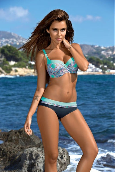 Swimming Brazilian Bikini, Beautiful Combination of Colors. Size M to XXL