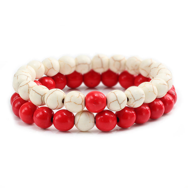 35% DISCOUNT - Couples Bracelets: 2 Pieces/Set, Trendy, Distance Relationships